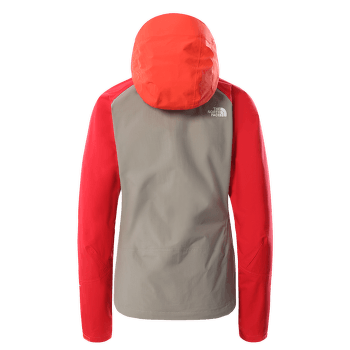 Stratos Jacket Women (CMJ0) Mineral Grey-Flare-Horizon Red