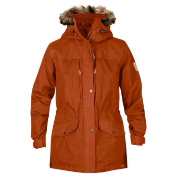 Sarek Winter Jacket Women Autumn Leaf