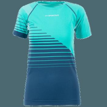 Escape T-Shirt Women Aqua/Opal