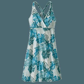 Amber Dawn Dress Women Tarkine Fern: Tasmanian Teal