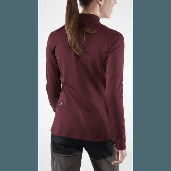 Keb Wool Sweater Women Dark Garnet