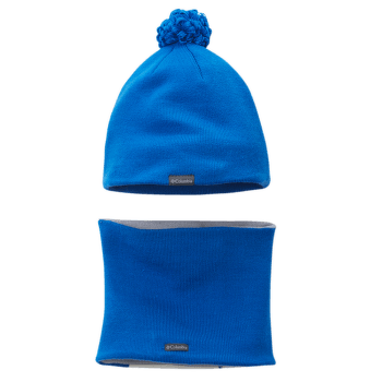 Youth Snow More™ Hat And Gaiter Set Super Blue Fox 438