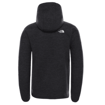 Zermatt Full Zip Hoodie Men TNF BLACK HEATHER