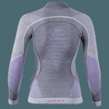 Fusyon UW Shirt LS Turtleneck Women Anthracite/Purple/Pink