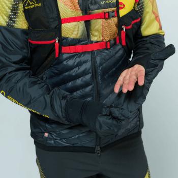 Faster Primaloft Jacket Men Black/Yellow 999100
