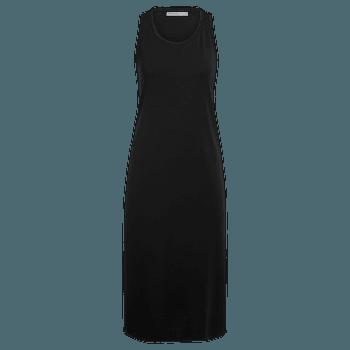 Yanni Tank Midi Dress Women Black