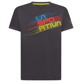 Stripe Evo T-Shirt Men Carbon