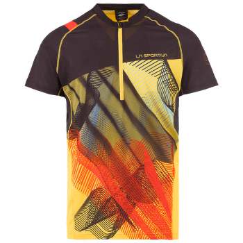 Xcelerator T-Shirt Men Black/Yellow 999100