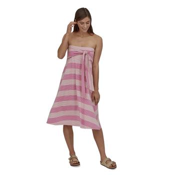 Kamala Midi Skirt Women Roving: Marble Pink