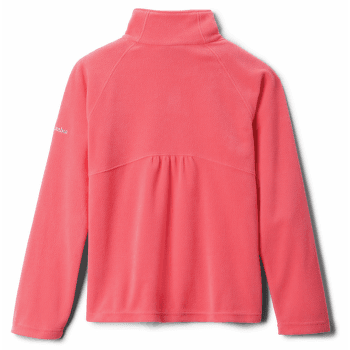 GLACIAL™ Fleece Half Zip Girls Bright Geranium