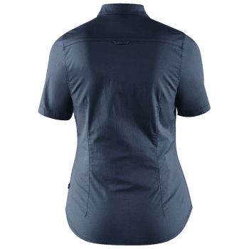 High Coast Stretch Shirt SS Women Navy