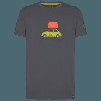 CINQUECENTO T-SHIRT MEN Carbon/Kiwi