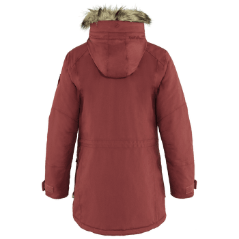Nuuk Parka Women Red Oak