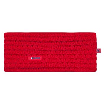 C36 Knitted Headband red