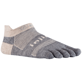 Run Lightweight No Show NuWool CHARCOAL AND BL