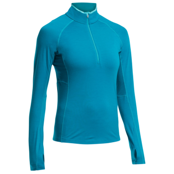 Zone LS Half Zip Women Alpine/Aquamarine/Aquamarine