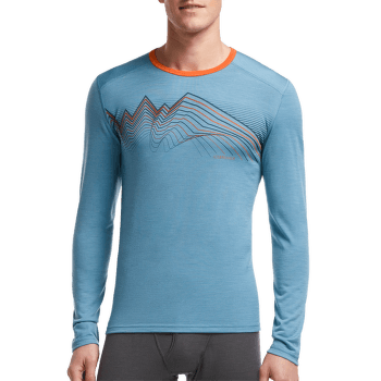 Oasis LS Crewe Equalizer Men Clay/Clay