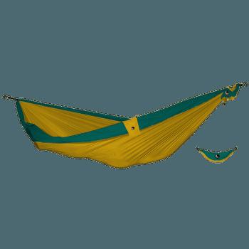 Double Moon Hammock(+Express Bag) d.yellow/emerald green