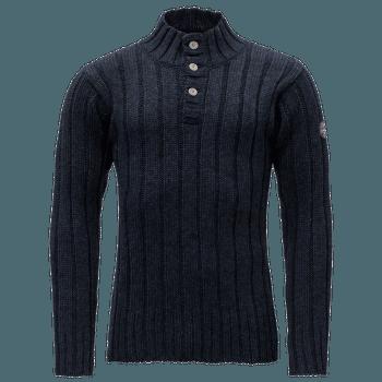 Amundsen Button Neck Men 280 DARK BLUE