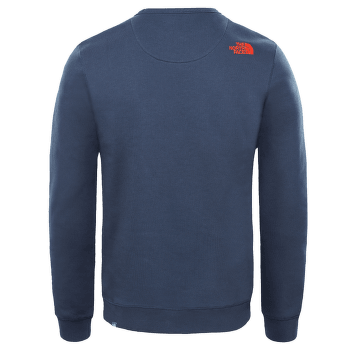 Drew Peak Crew Men URBAN NAVY/FIERY RED