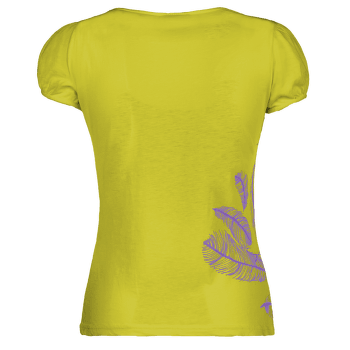 Plume T-shirt Women LIME-311