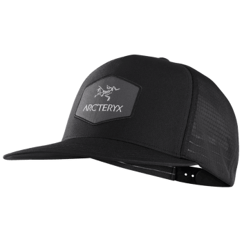Hexagonal Trucker Hat Black