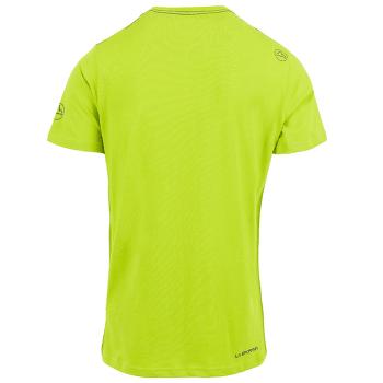 Cross Section T-Shirt Men Apple Green