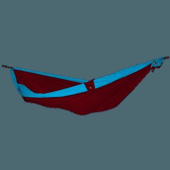 Double Moon Hammock(+Express Bag) burgundy/sky blue