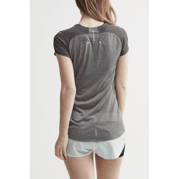 Nanoweight T-shirt Women 975000 Dk Grey Melange