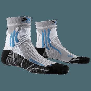 Run Speed Two Socks Grey-Black-Blue