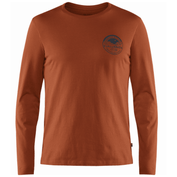 Forever Nature Badge LS T-Shirt Men Autumn Leaf