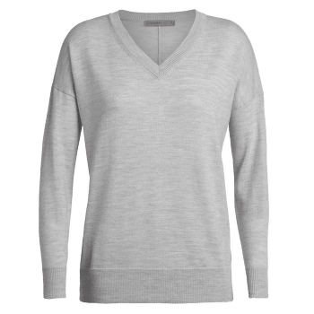 Shearer V Sweater Women STEEL HTHR