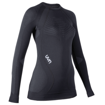 Ambityon UW Shirt LS Women Blackboard/Anthracite/White