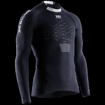 The Trick 4.0 Run Shirt LG Men Opal black/artic white
