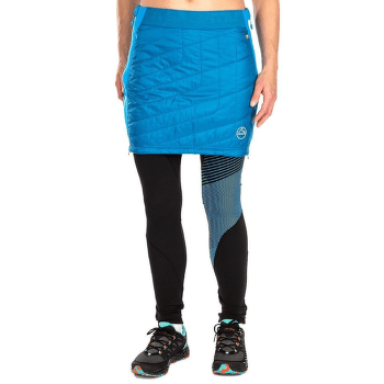 Warm Up Primaloft Skirt Women Neptune/Azure