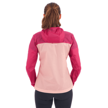 Convey WB Hooded Jacket Women dark ceramic-dark frosty 50456