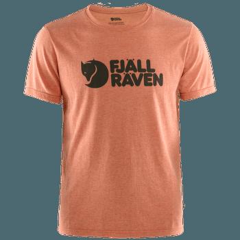 Fjällräven Logo T-shirt Men Rowan Red-Melange