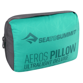 Aeros Pillow Ultralight Deluxe Sea foam