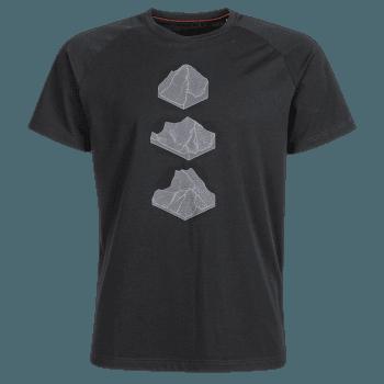 Mountain T-Shirt Men (1017-09845) black 0001