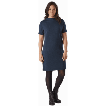 Laina Dress Women Black Heather