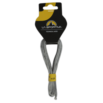 Mountain Running Laces White/Mid Grey