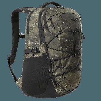Borealis (3KV3) Military Olive Cloud Camo Wash Print-TNF Black