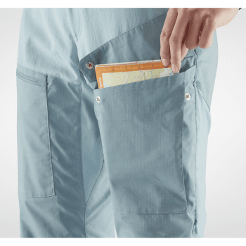 Abisko Midsummer Trousers Women Regular Mineral Blue-Clay Blue