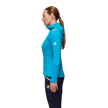 Eiswand Advanced ML Hooded Jacket Women Barberry 3218