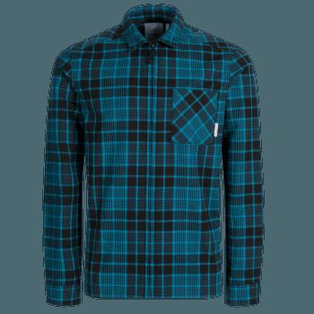 Tamaro Longsleeve Shirt Men sapphire-black