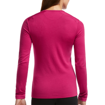 Tech Top LS Crewe Women Raspberry