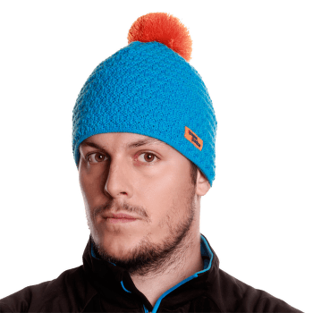 K36 Knitted Hat cyan 115
