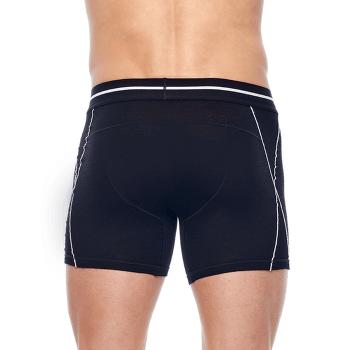 Anatomica Zone Boxers Men GRANITE BLUE HTHR/CHILI RED