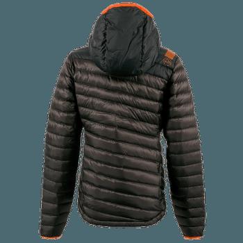 Frontier Down Jacket Women Black/Pumpkin