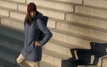 Darrah Coat Women Crest